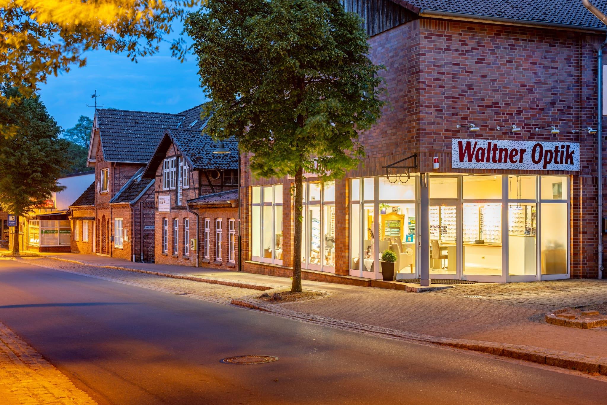 Außenansicht Waltner Optik, Harmshof 4 in 29646 Bispingen